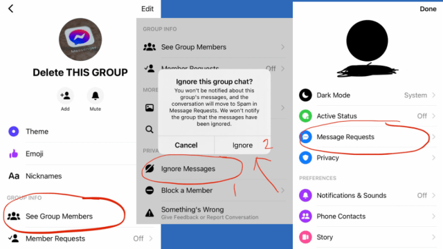 How to Delete a Group Chat in Facebook Messenger 30 - TurboFuture