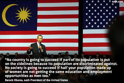 Image result for Obama on Racism in Malaysia