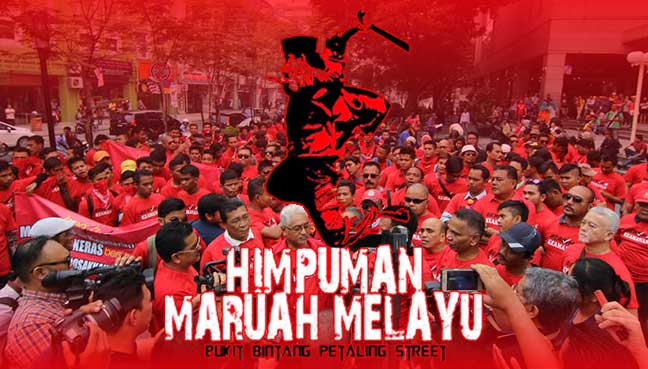Image result for Hishammuddin Hussein's Malay nationalism