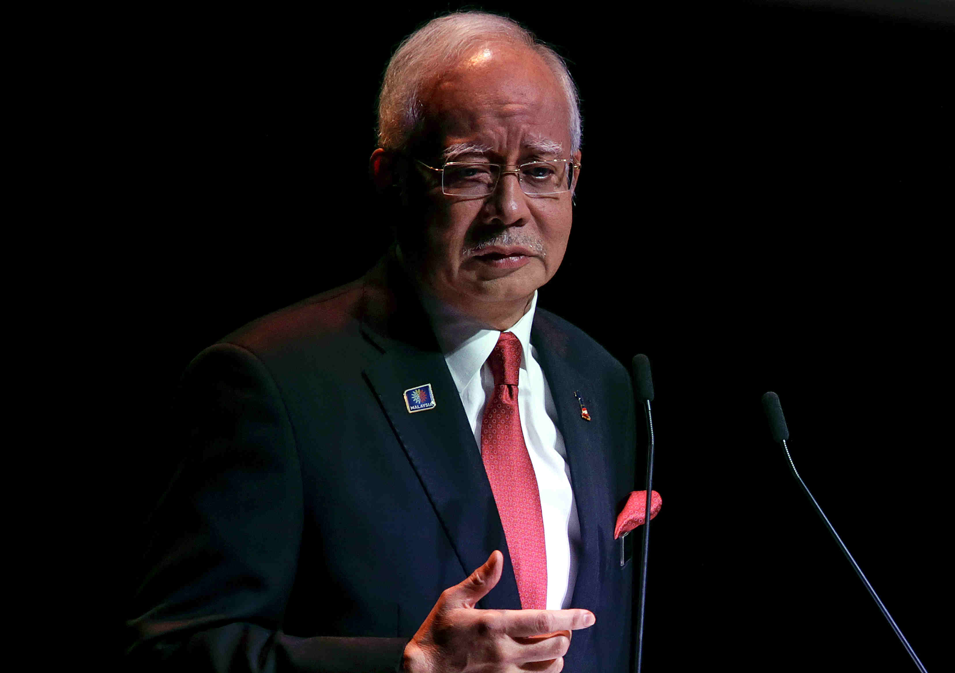 Image result for Najib is scared