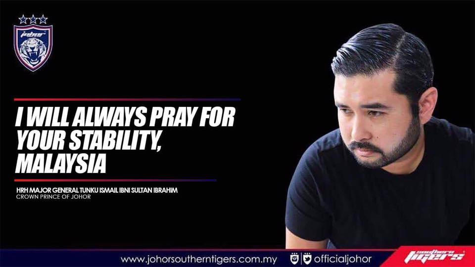Image result for Crown Prince of Johor