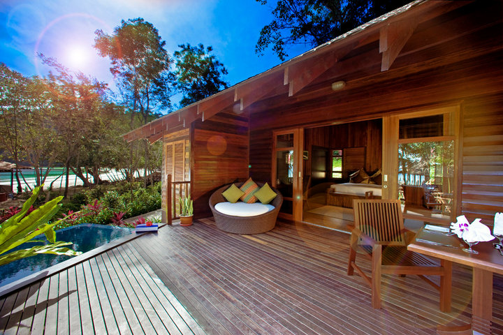 Image from Bunga Raya Island Resort