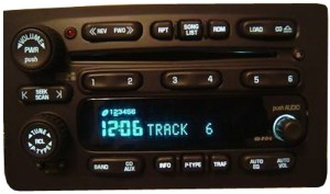 2003 2004 2005 Chevy Tahoe Factory Stereo 6 Disc Changer CD Player OEM Radio  R238316