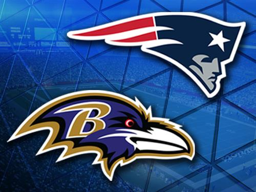 Image result for ravens vs patriots
