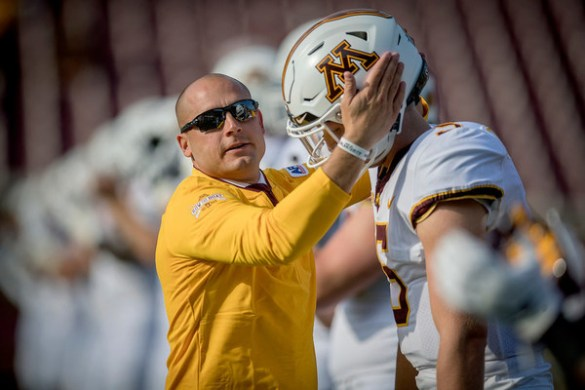 StarTribune com  News  weather  sports from Minneapolis  St  Paul     Gophers football coach P J  Fleck had some fun in the postgame interview  room talking about his true freshman QB  Here s some video