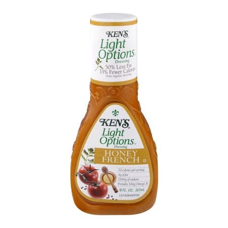 Healthy Options Honey French Dressing from Ken39s Steak