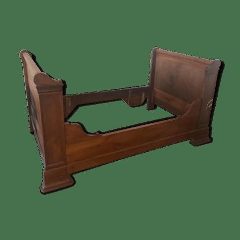 lit de coin rouleau 1900 merisier