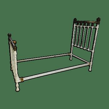 lit ancien fer forge lit cage