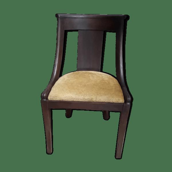 chaise ancienne gondole style empire selency