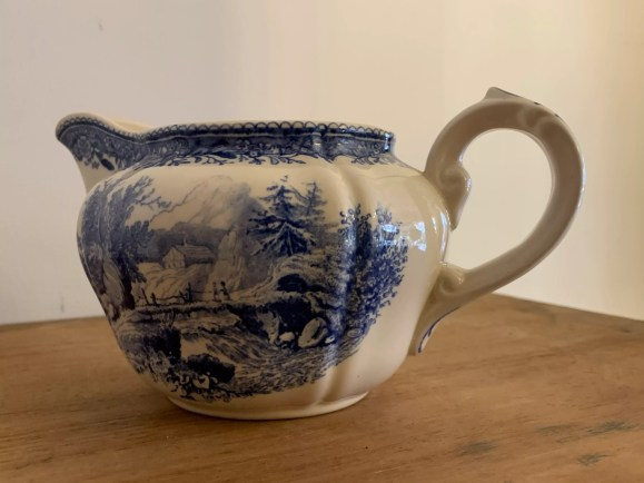 villeroy and boch burgenland 1950 blue