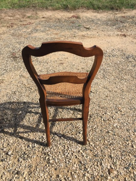 chaise louis philippe cannee selency