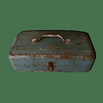 rangement coffre caisse en fer