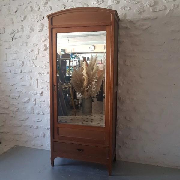 armoire ancienne avec miroir selency