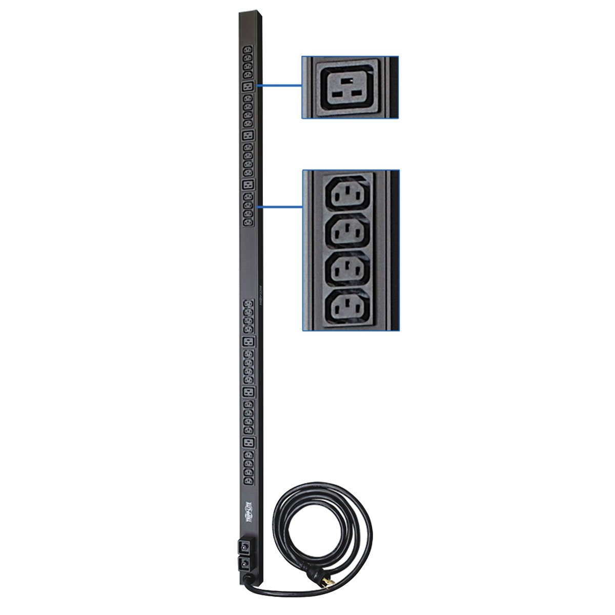 Tripp Lite Pduv30hv Basic Pdu Vertical Rack Mount Power