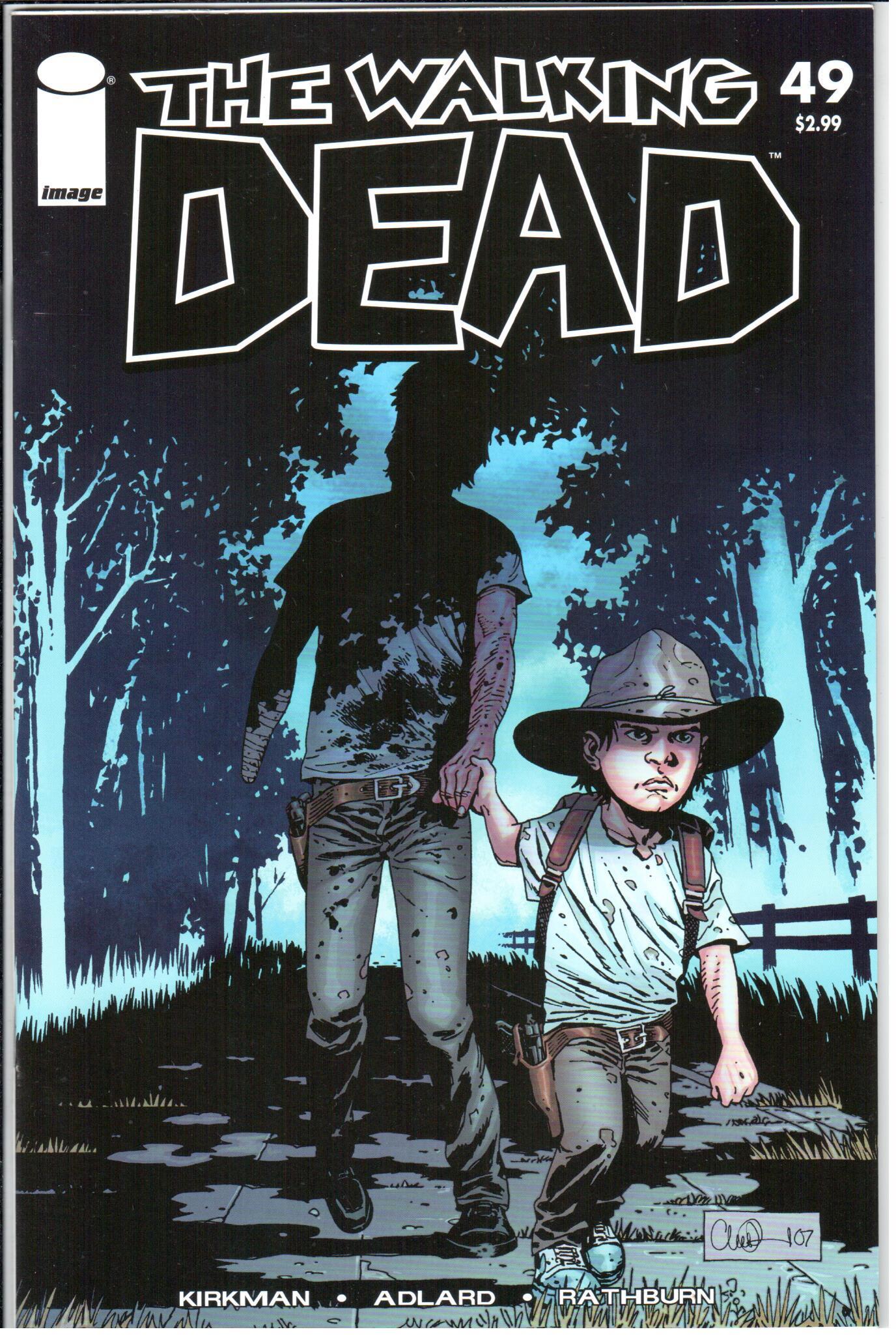 Walking Dead Series 49 1st Print May Image Nm