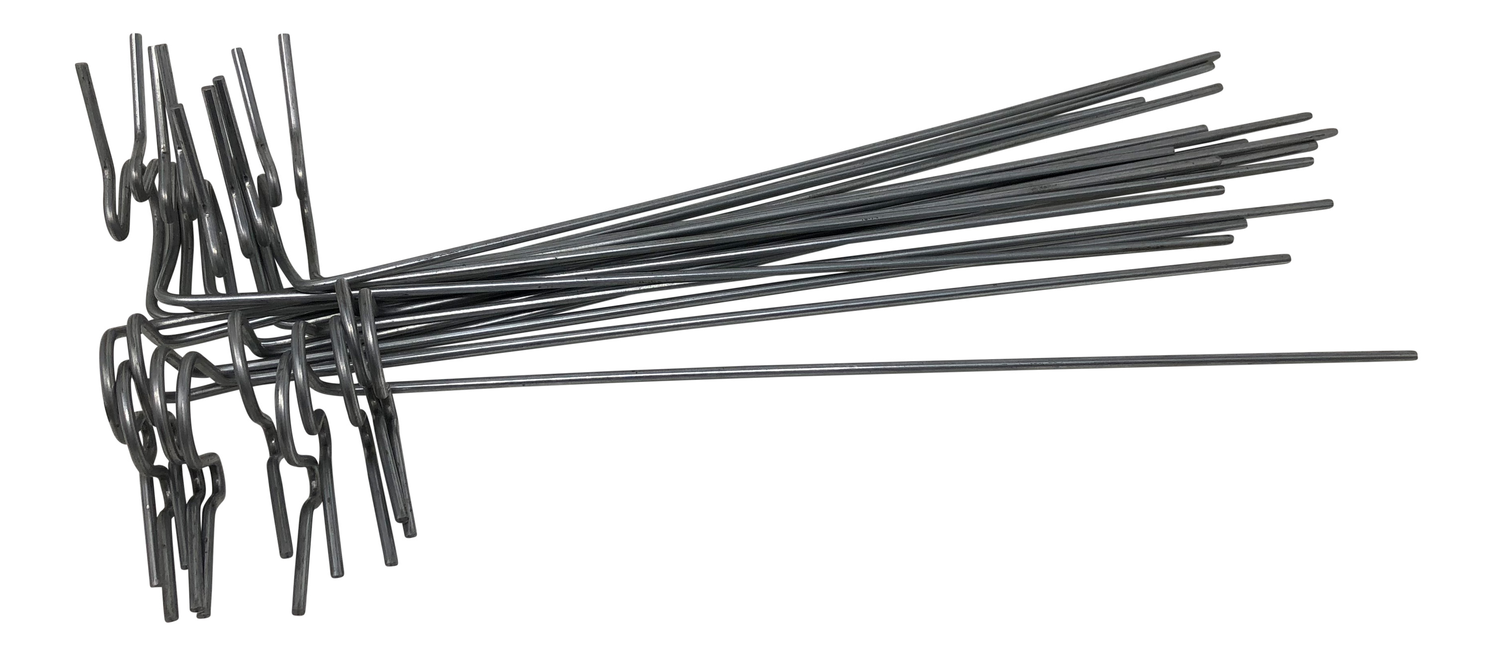 Lawn Stakes For Christmas Lights Galvanized Steel Wire 10 In Long 20 Per Pack