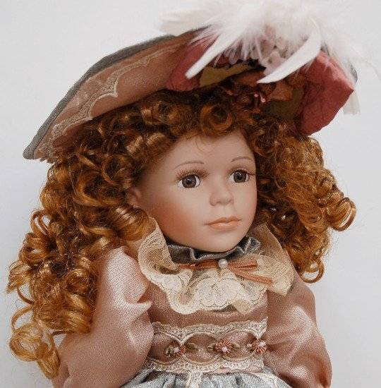 Knightsbridge Porcelain Doll