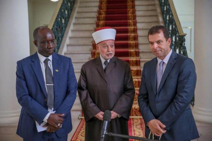 Le grand Mufti général de Jérusalem et Palestine au Sénégal