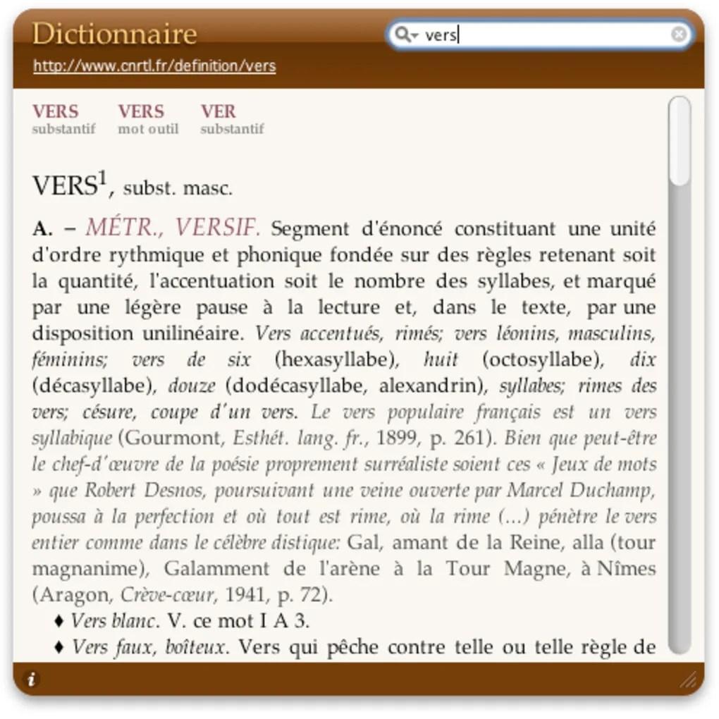 Dictionnaire Pour Mac Tlcharger