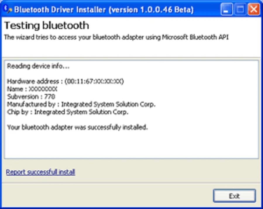 Bluetooth Driver Installer تنزيل