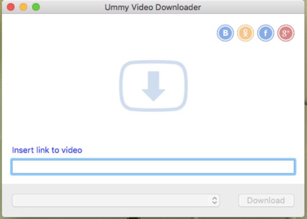 Ummy Video Downloader para Mac - Download