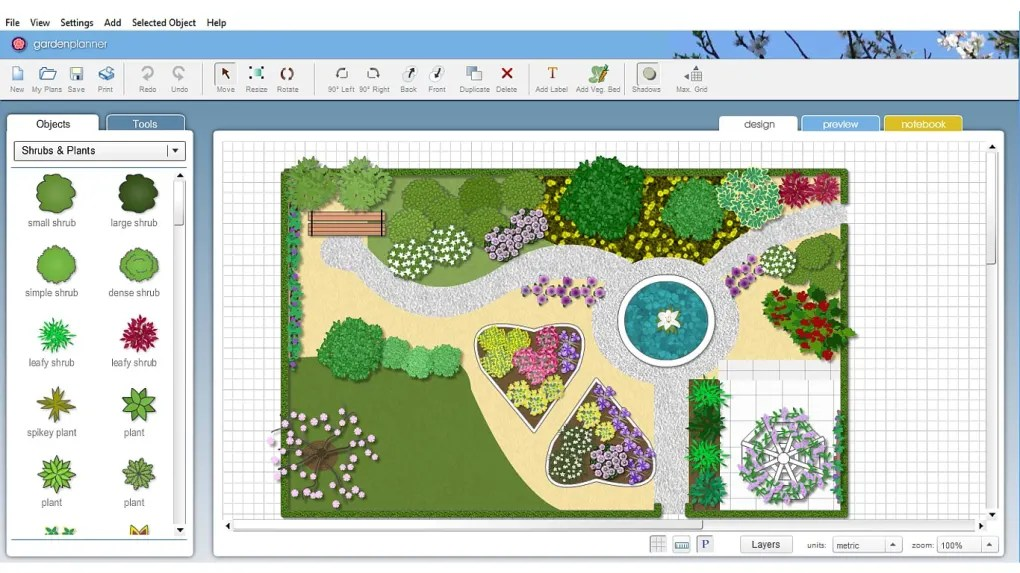 Garden Planner 3 - Download on Backyard Layout Planner  id=95746