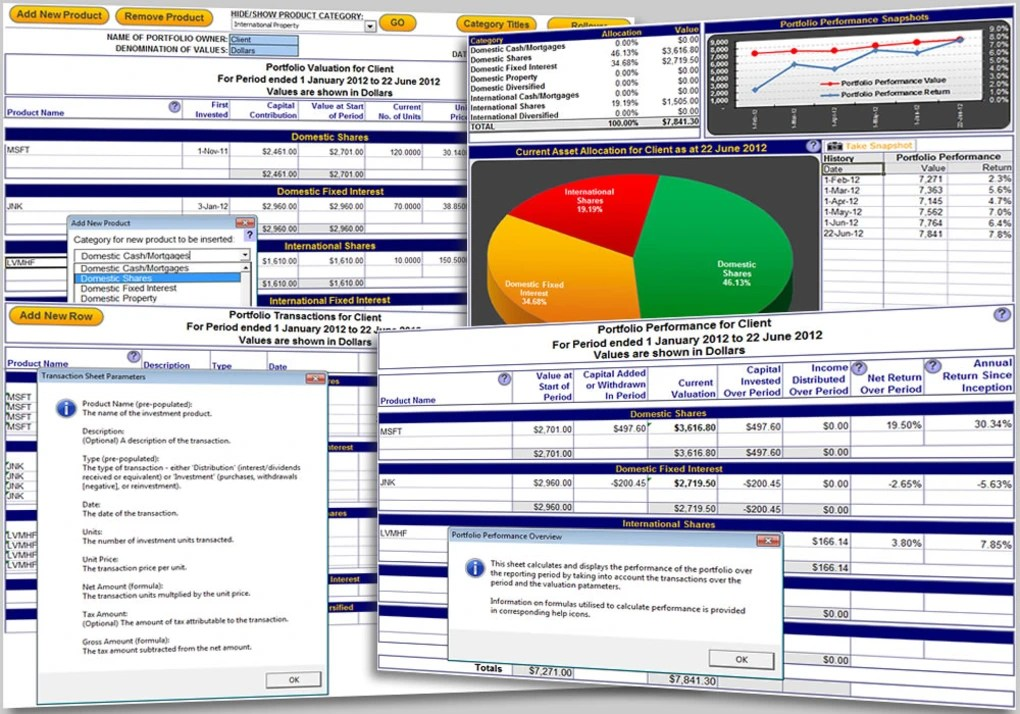 Thanks to a wide array of freely available stock information online, you can begin create your own stock portfolio charts quickly. Excel Portfolio Tracking Download
