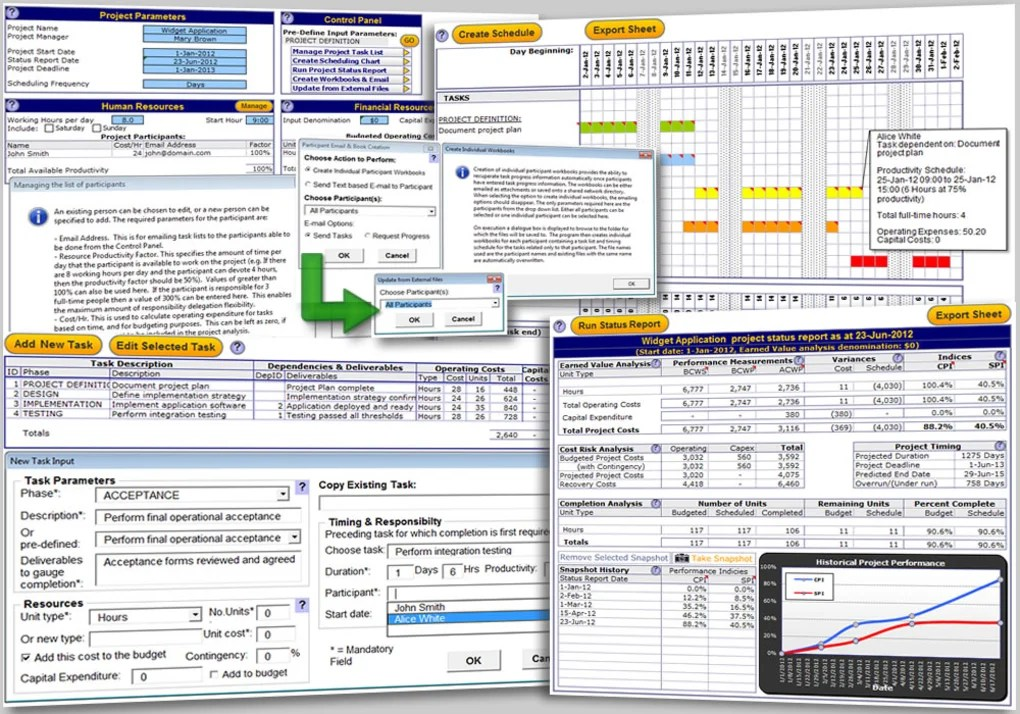 Use these free powerpoint and excel templates to create a professional project roadmap for your next stakeholder meeting. Excel Project Management Template Download