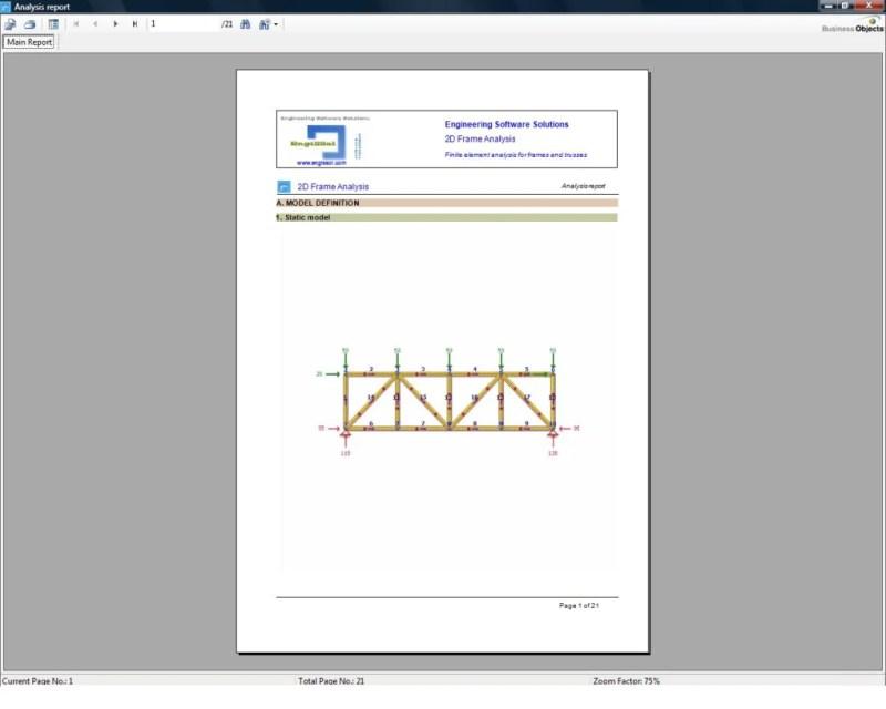 Truss Frame Analysis Software | Framebob org