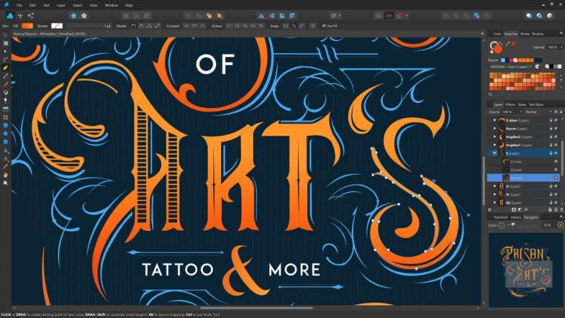 Serif Affinity Designer 1.2 Key
