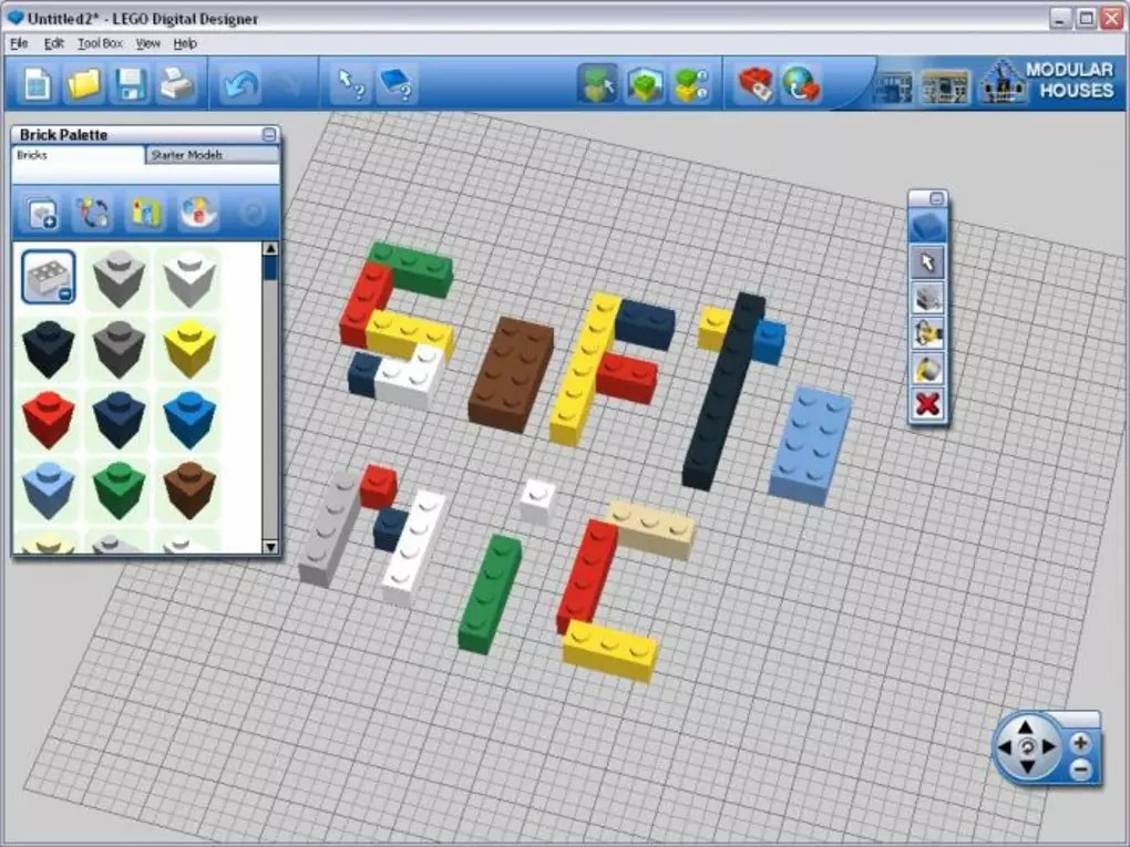 LEGO Digital Designer   Download Be reminded of your youth with these virtual lego bricks  LEGO Digital  Designer