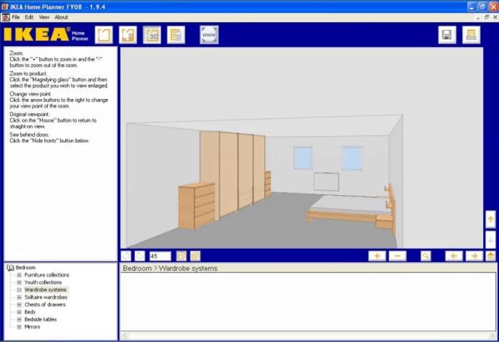 Ikea Home Planner Bedroom Telecharger