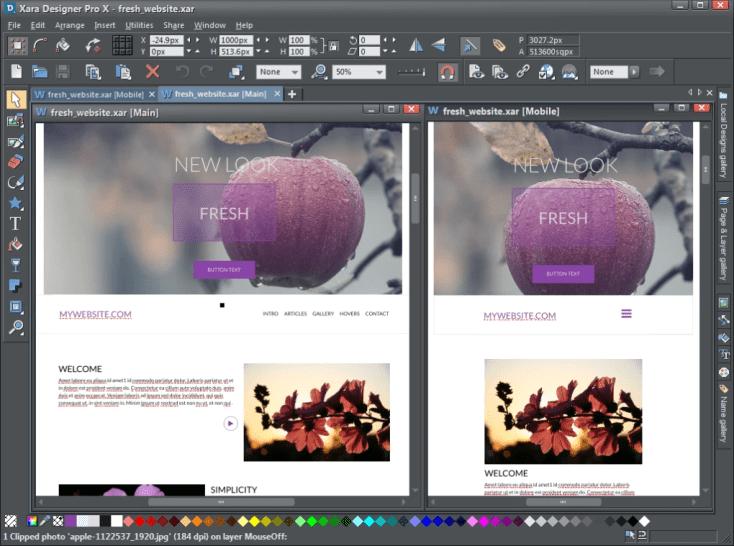 Magix Xara Web Designer Premium 20182 6 0 144 Free Activation