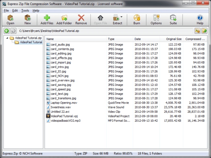 Express Zip File Compression Software - Download