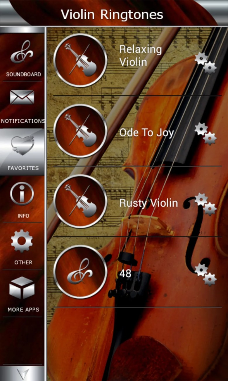 violin ringtones for android - download