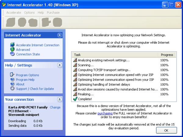 Internet Accelerator - Download
