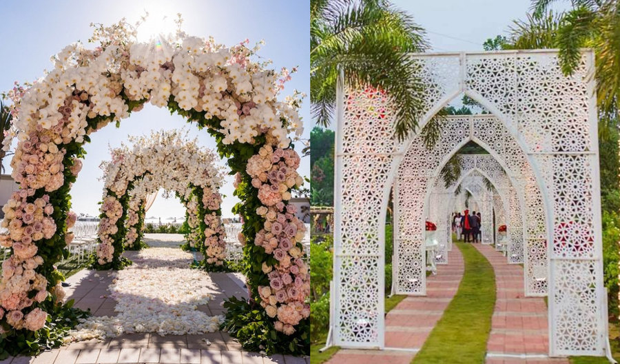 25+ Magical Entrance Decor Ideas To Quirk Up Your Wedding