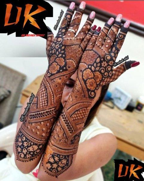 UK Mehndi Artist | Mehndi Artists in Delhi | ShaadiSaga