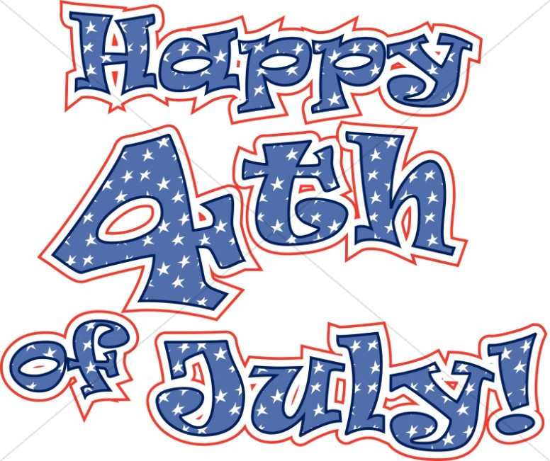 Independence Day Word Art 4th Of July Wordart Sharefaith