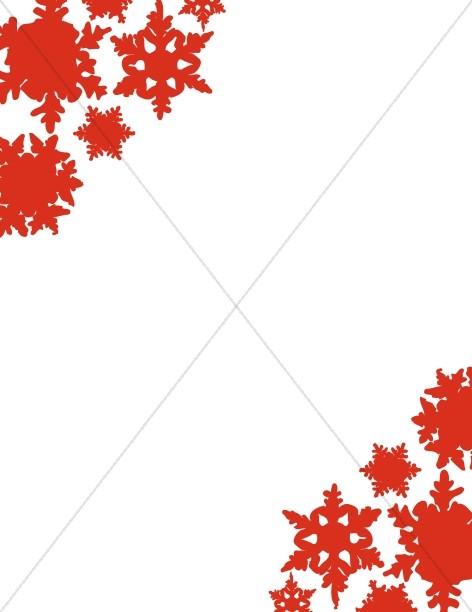 Corner Black And White Christmas Holly