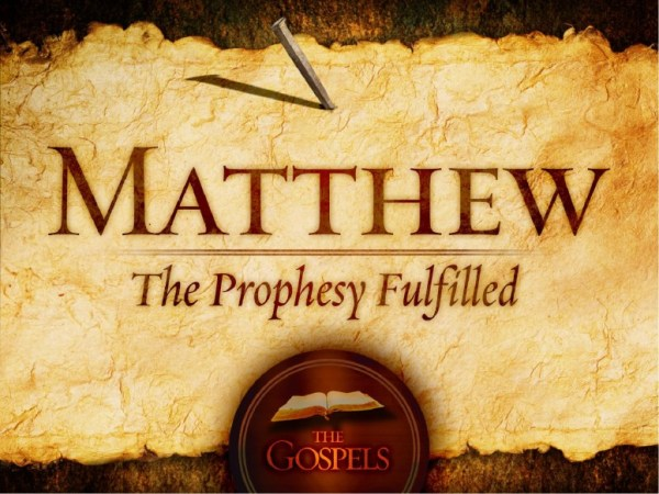 The Gospel of Matthew PowerPoint Template