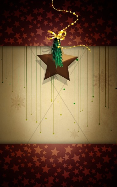 Christmas Stars Bulletin Cover