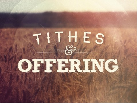 Image result for tithing and offering pictures