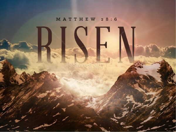 He is Risen Indeed Christian PowerPoint | Easter Sunday ...