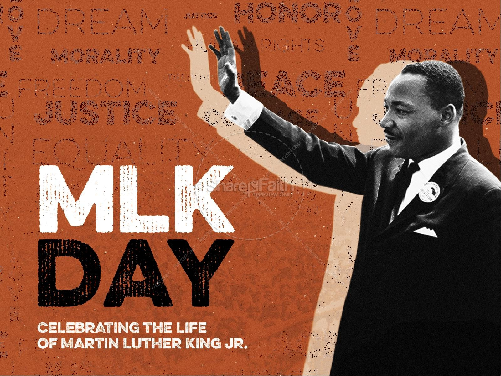 MLK Day Christian Church PowerPoint Martin Luther King
