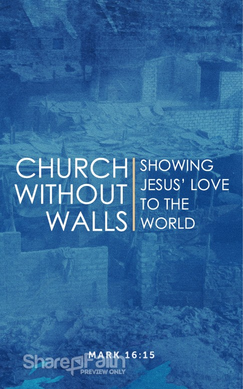 Church Without Walls Church Bulletin Sermon Bulletin Covers