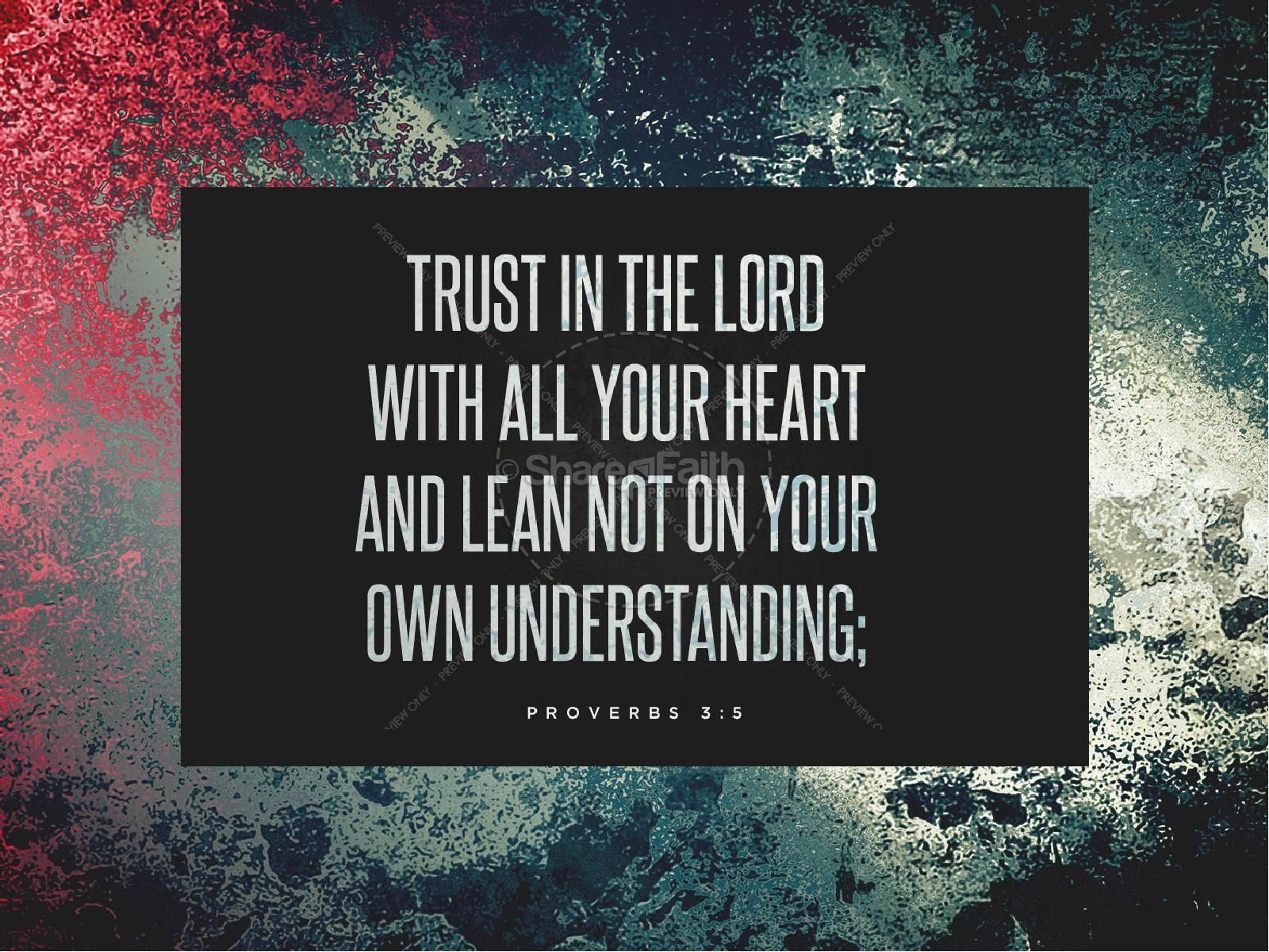 Trusting God Sermon PowerPoint PowerPoint Sermons