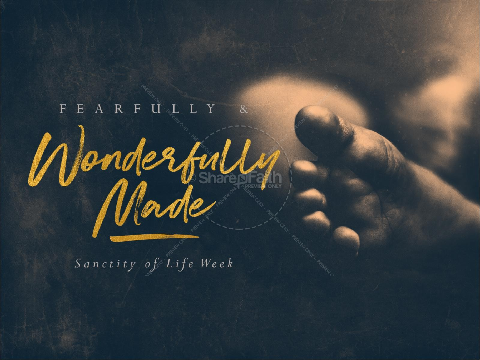 Fearfully Amp Wonderfully Made Sermon PowerPoint