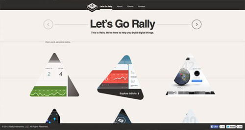 Rally Interactive 优秀网页设计