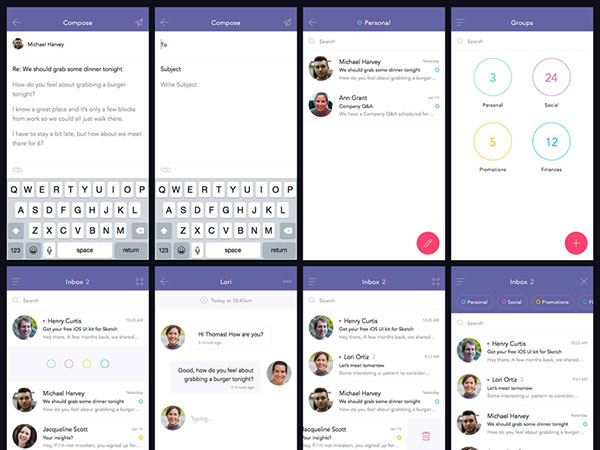 Free download: Sketch UI Kit